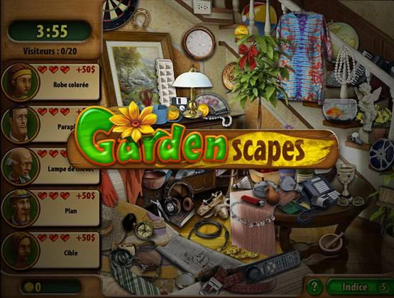Garden Scapes landing