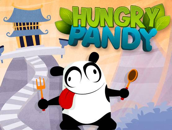 Hungry Pandy landing