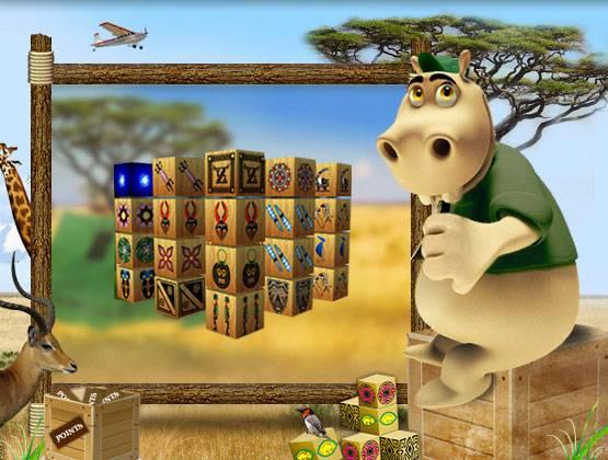 Mahjong Africa landing