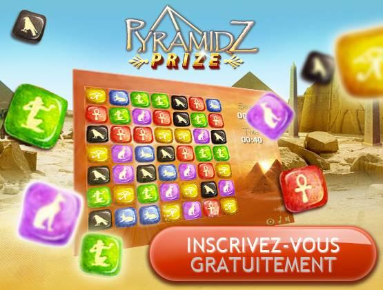 Pyramidz Prize landing